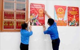 Tuổi trẻ Sơn La triển khai nhiều hoạt động phục vụ cho Ngày bầu cử