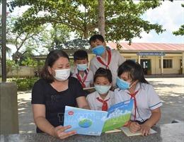 Cô giáo trẻ với tấm lòng thiện nguyện hết lòng vì học sinh