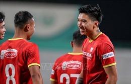 Vòng loại World Cup 2022: Văn Hậu bất ngờ về sự vắng mặt của Văn Lâm