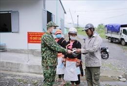 Đoàn công tác Bộ Tư lệnh Bộ đội Biên phòng thăm các chốt chống dịch COVID-19 biên giới Lai Châu