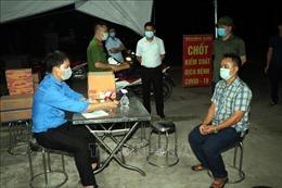 Lập chốt kiểm soát phòng, chống dịch 'bảo vệ' vùng vải thiều Thanh Hà