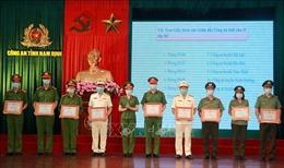 Công an tỉnh Nam Định vượt chỉ tiêu cấp căn cước công dân gắn chíp điện tử