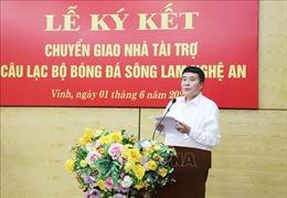 Sông Lam Nghệ An có nhà tài trợ mới
