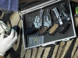 Phát hiện nhóm đối tượng tàng trữ hơn 10kg ma túy cùng nhiều vũ khí