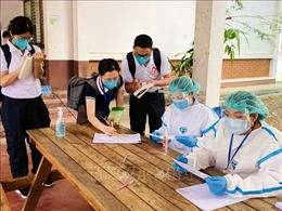 Lào đã tiêm hơn 1 triệu liều vaccine phòng COVID-19