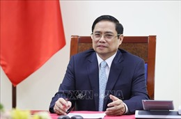 Thủ tướng Phạm Minh Chính điện đàm với Thủ tướng Cộng hòa Pháp Jean Castex