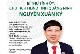Ủy viên Trung ương Đảng, Bí thư Tỉnh ủy, Chủ tịch HĐND tỉnh Quảng Ninh Nguyễn Xuân Ký