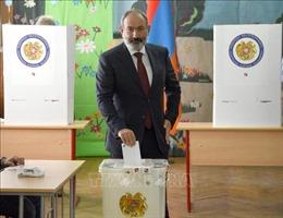 Bầu cử Quốc hội Armenia: Đảng 'Khế ước dân sự'giành chiến thắng