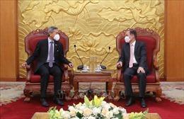 Thúc đẩy quan hệ hợp tác giữa hai đảng cầm quyền và đối tác chiến lược Việt Nam - Singapore