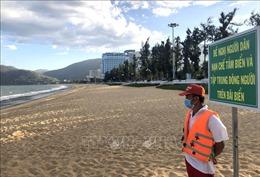 Bình Định cấm tắm biển, tạm dừng vận chuyển hành khách đi Bình Dương, Khánh Hòa, Phú Yên, Đà Nẵng