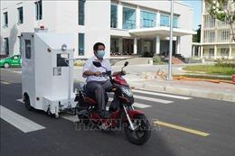 Đại học Bách khoa (Đại học Đà Nẵng) sáng chế cabin chở bệnh nhân COVID-19 trong khu cách ly