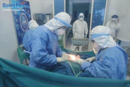 Chuyện 'đỡ đẻ'tại bệnh viện điều trị COVID-19 ở Quảng Ngãi