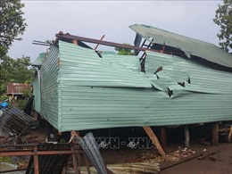 Đắk Nông: Hỗ trợ người dân khắc phục hậu quả của lốc xoáy và mưa đá