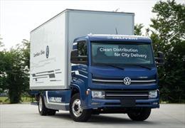 Volkswagen ra mắt xe tải thuần điện đầu tiên được sản xuất hoàn toàn tại Brazil