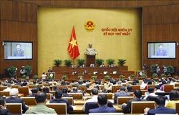 Kỳ họp thứ nhất, Quốc hội khóa XV: Ưu tiên phòng, chống dịch COVID-19 hiệu quả