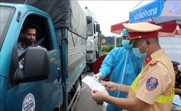 Bộ Y tế đề nghị công nhận xét nghiệm test nhanh COVID-19 với các lái xe chở hàng
