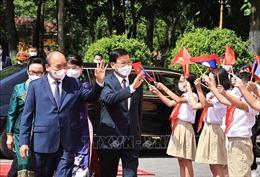 Lào - Việt Nam phát triển bền vững mối quan hệ đặc biệt toàn diện