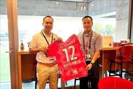 CLB Cerezo Osaka (Nhật Bản) muốn giao lưu với các CLB bóng đá Việt Nam