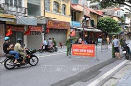 Hà Nội: Kiểm soát chặt người ra đường trong ngày lễ Quốc khánh 2/9