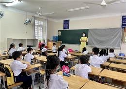 Thầy và trò vùng xanh Côn Đảo hào hứng bắt đầu năm học mới