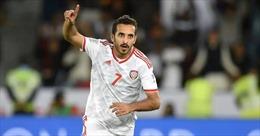 Danh thủ UAE san bằng thành tích ghi bàn kỷ lục của Pele