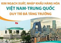 Kim ngạch xuất, nhập khẩu hàng hóa Việt Nam-Trung Quốc duy trì đà tăng trưởng