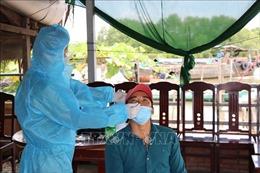 Khẩn trương dập ổ dịch COVID-19 tại thị trấn Vàm Láng, Tiền Giang