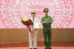 Thượng tá Trần Văn Phúc được bổ nhiệm làm Giám đốc Công an tỉnh Thái Bình