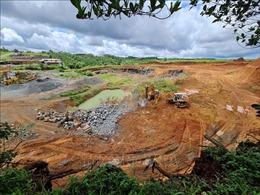 Xử lý triệt để các hành vi khai thác, chế biến khoáng sản trái phéptại Đắk Nông