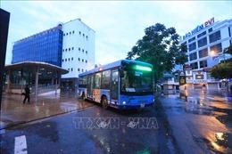 Vận tải hành khách tại Hà Nội bắt đầu hoạt động trở lại