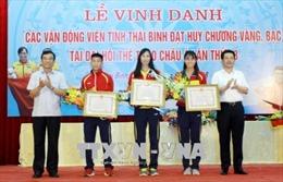 Thái Bình vinh danh các vận động viên giành HCV, HCB ASIAD 2018