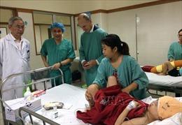 Phẫu thuật thành công trẻ bị dị tật bẩm sinh hốc mắt xa và bất sản xương cánh mũi