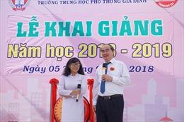 Xúc động lời nhắn nhủ của Bí thư Thành ủy TP Hồ Chí Minh trong lễ khai giảng