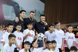 David Beckham giao lưu với cầu thủ và người hâm mộ Việt Nam