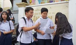TP Hồ Chí Minh công bố đáp án ba môn thi tuyển sinh vào lớp 10