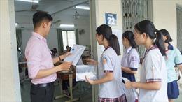 Hơn 80.000 học sinh TP Hồ Chí Minh 'hồi hộp' bước vào kỳ thi lớp 10