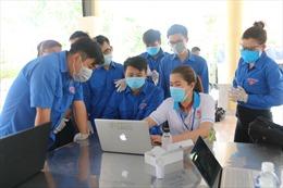 Đoàn thanh niên TP Hồ Chí Minh hỗ trợ hậu cần các điểm tiếp nhận cách ly tập trung