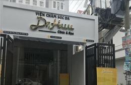 TP Hồ Chí Minh phát hiện một cơ sở dịch vụ thẩm mỹ không phép