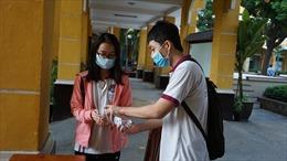 Thí sinh TP Hồ Chí Minh phải đeo khẩu trang khi tham dự kỳ thi tốt nghiệp THPT