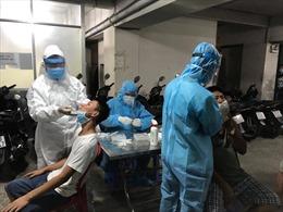 778 tiểu thương, nhân viên chợ đầu mối Thủ Đức được lấy mẫu xét nghiệm COVID-19