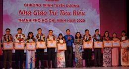 TP Hồ Chí Minh tuyên dương 161 gương nhà giáo trẻ tiêu biểu