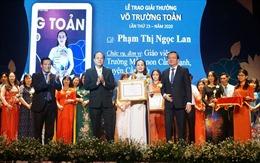 TP Hồ Chí Minh trao giải thưởng Võ Trường Toản cho 50 nhà giáo tiêu biểu