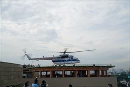 Sân bay cấp cứu bằng trực thăng đầu tiên tại TP Hồ Chí Minh đi vào hoạt động