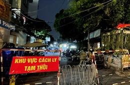 TP Hồ Chí Minh: Phong tỏa một con hẻm ở quận Gò Vấp vì có trường hợp dương tính với SARS- CoV-2