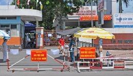 Phong tỏa tạm thời Bệnh viện quận Tân Phú vì có 3 trường hợp nghi mắc COVID-19 đến khám bệnh
