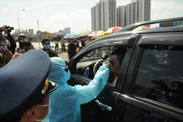 TP Hồ Chí Minh tái lập 12 chốt kiểm tra y tế tại các tuyến cửa ngõ
