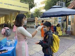 Ngành giáo dục TP Hồ Chí Minh thông báo khẩn về rà soát y tế tại trường học