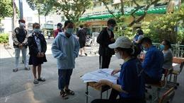 Trên 85.000 học sinh thi tốt nghiệp THPT tại TP Hồ Chí Minh tham gia lấy mẫu xét nghiệm COVID-19