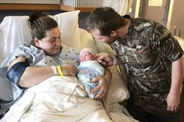Tỉ lệ sinh nở tại Mỹ xuống mức thấp kỉ lục