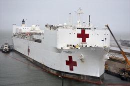 Khám phá siêu tàu bệnh viện USNS Comfort mới tới giải cứu New York